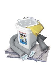 Universal Compact Absorbent Spill Kit, 5 gal #FA090435000