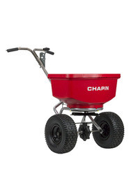 100 lbs Professional Spreader with Stainless Steel Frame #CH8400C0000