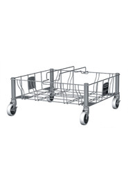 Slim Jim Stainless Steel Double Dolly #RB195619100