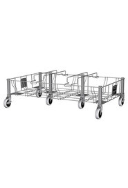 Slim Jim Stainless Steel Triple Dolly #RB195619200