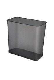 Rectangular Open Top Mesh Wastebasket, 7,5 Gal #RBWMB30RNOI