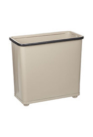 Rectangular Open Top Wastebasket, 7,5 gal #RB000WB30AL