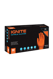 Aurelia Ignite Heavy Duty Nitrile Gloves #SE097887000