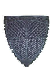 Tapis d'urinoir super absorbant noir P-Shield #WH6PSUM000