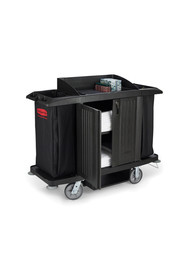 Full Size Housekeeping Cart with Doors 6191 #RB006191NOI