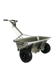 200 lbs Stainless Steel Professional Rock Salt Drop Spreader 8500B #CH08500B000