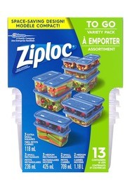 Variety Pack Containers To Go Ziploc #PR700334000
