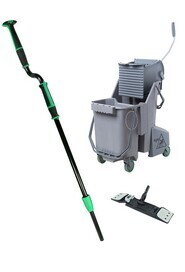 Floor Cleaning Mop Pack Unger Excella #HWEFKT70000