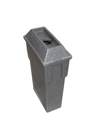 Recycling Containers Bullseye, 16 gal #WH549A00GRI