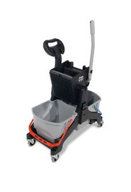 MidMop Microfiber Bucket and Side Press Wringer Cart #NA909914000