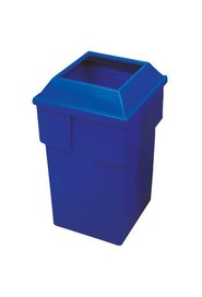 Recycling Containers Bullseye, 30 gal #WH559B00BLE