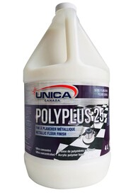 Metallic Floor Finish POLYPLUS 25 #QC00NPP5040