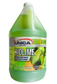 Concentrated All-Purpose Cleaner Antibacterial BIOLIME #QC00NLIM040