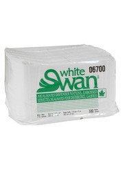 White Swan #06700 1-Ply Meal Mates high quality embossed napkins #EC751478000