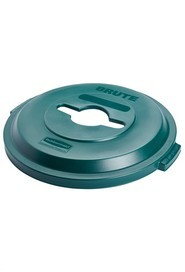 BRUTE® 32 Gal Mixed Recycling Lid #RB178838000