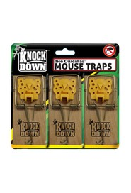 Mouse Traps with Cheese Pedal Knockdown #WH00KD606T0