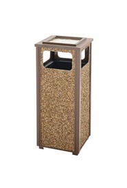 Outdoor Waste Container with Ashtray ASPEN #RBR12SU201P