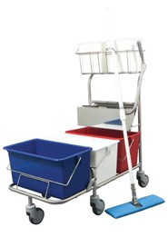 Triple-Bucket Mopping System TruCLEAN Pro XL #PX00223XL00
