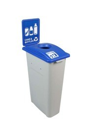 Single Container for Cans & Bottle Waste Watcher #BU100947000