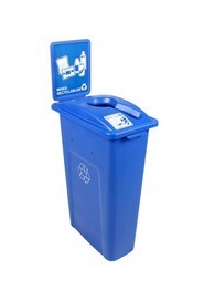 Single Container for Mixed Recycling Waste Watcher #BU101044000