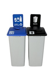 Duo Containers Cans and Waste Waste Watcher XL, Closed Lid #BU101329000