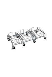 Combo Trio Steel Dollies for Containers Waste Watcher XL #BU103740000