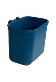 Hanging Desk Waste Basket, 0.75 gal #BU102168000