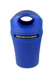 Mixed Recyclables Container with Canopy INFINITE Elite #BU100910000
