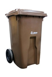 Compost Bin on Wheels, 240 L #NI0602136A0