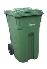 Outdoor Waste Bin on Wheels, 360 L #NI060204H20