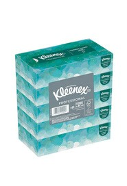 Facial Tissues Kleenex Naturals 2 ply 100 tissues, 5 pack bundle #KC021005000