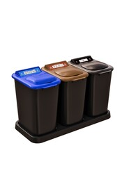 Recycling Center MOBILIA, 3 x 6.9 gal #NI0MOB26000