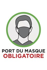 Autocollants PORT DU MASQUE OBLIGATOIRE #CV0COLLANT3