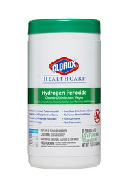 Hydrogen Peroxide Cleaner Disinfectant Wipes #CL030824000