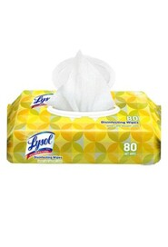 Disinfecting Wipes Lysol, 80 wipes #CV000792550