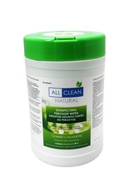 Disinfecting Wipes ALL CLEAN NATURAL, 110 wipes/pack #CV0ALLCLEAN