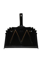 "16"" Metal Dust Pan Black - Advantage #WH000007000"