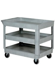 3 Shelves Heavy-Duty Utility Cart #WH0005805GY