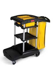 Chariot de concierge 9T72 de Rubbermaid Commercial #RB009T72NOI