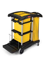Microfiber Cleaning Cart Rubbermaid 9T73 #RB009T73NOI