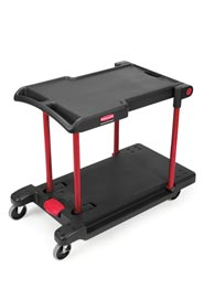 Chariot de manutention convertible pour travaux légers Rubbermaid 4300 #RB004300NOI