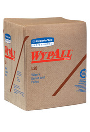 Wypall L20 Brown Wipes Rags #KC047000000