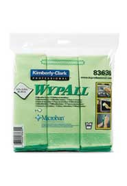 Glasses and mirrors Microfiber Dust-Cloth WypAll #KC083630000