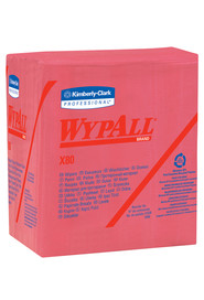 Red Wipes WypAll ShopPro X80 #KC041029000