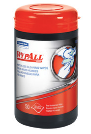 Wypall waterless cleaning wipes #KC058310000