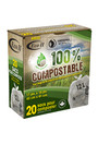 Kitchen Biodegradable Garbage Bags 17 X 16 #GO800201000