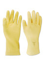 Gants en latex naturel doublés de coton #SE04122000S