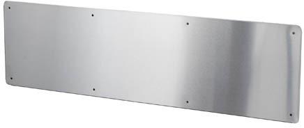 plaque protectrice pour bas de porte 1118 fr001118000 montr al qu bec lalema inc. Black Bedroom Furniture Sets. Home Design Ideas
