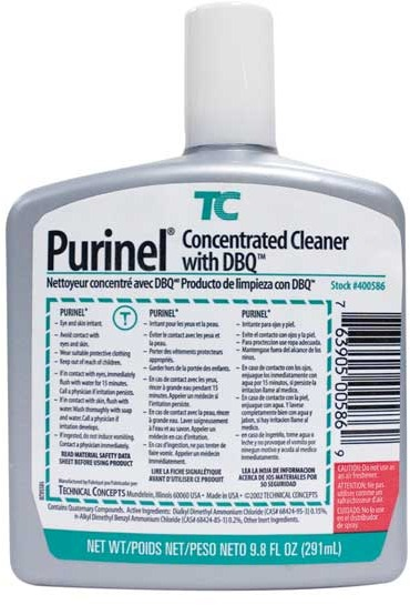 Concentrated Drain Maintenance and Cleaner Purinel #TC400586000