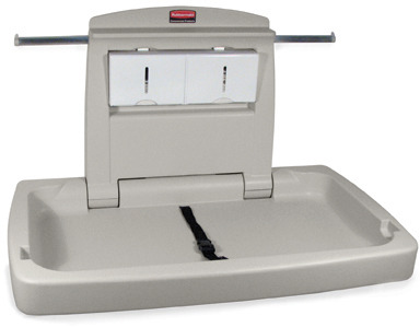Rubbermaid Baby Changing Station #RB781888PLA